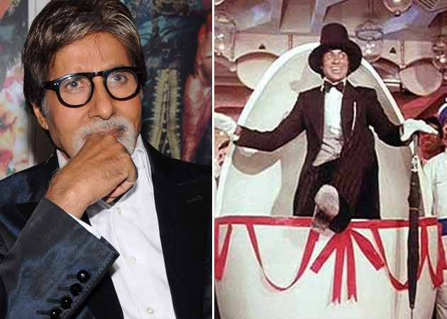 Amitabh Bachchan: We didn't shoot My name is Anthony Gonsalves
