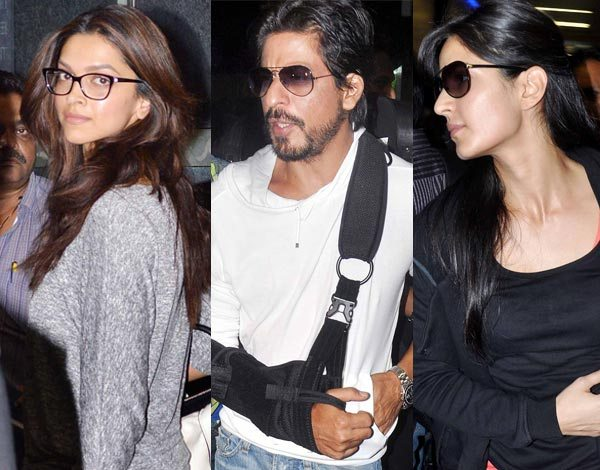 War Between Deepika Padukone & Katrina Kaif To Romance Shahrukh Khan