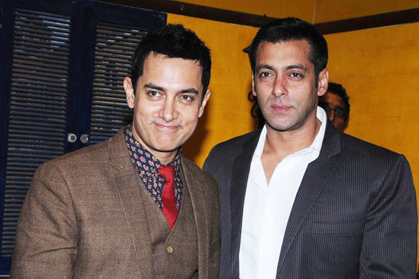 Salman Khan plays a Father's role for Aamir Khan's Son