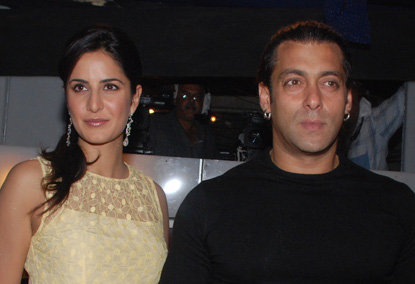 Katrina Kaif Spends her Birthday With Salman Khan