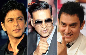 Bollywood is Ruled by Khans and Kumars.
