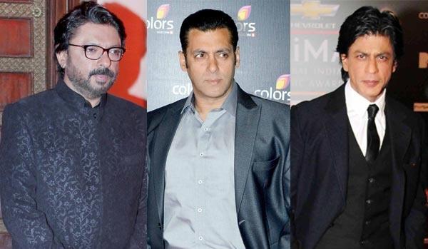 Salman Khan,Shahrukh Khan or Ajay Devgn for Bhansali's next