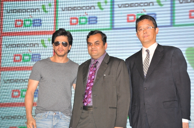 Shahrukh Khan: No TV without Digital Direct Broadcast