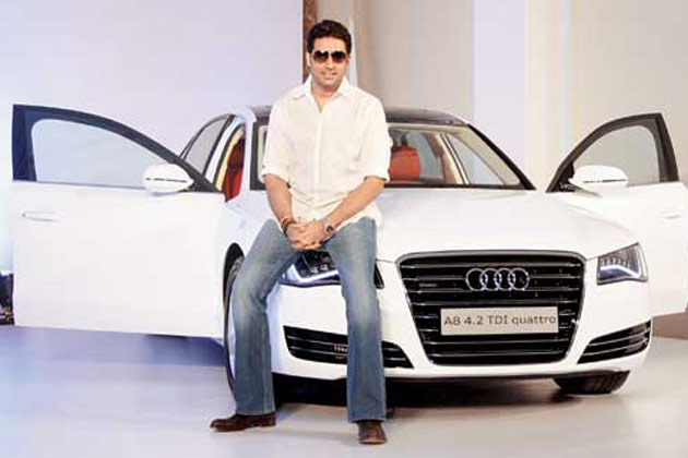 Abhishekh Bachchan back in  action with  Dhoom 3