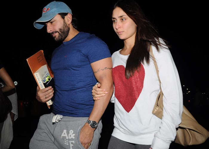 Saif Ali Khan - Kareena Kapoor visit London for Privacy