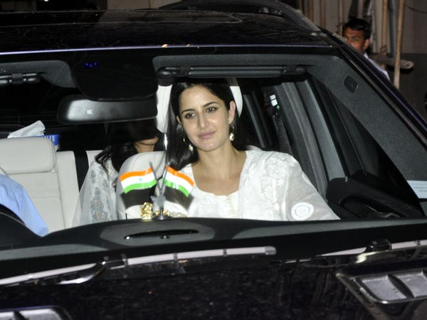 Katrina Kaif spotted at Salman Khan's house during Eid