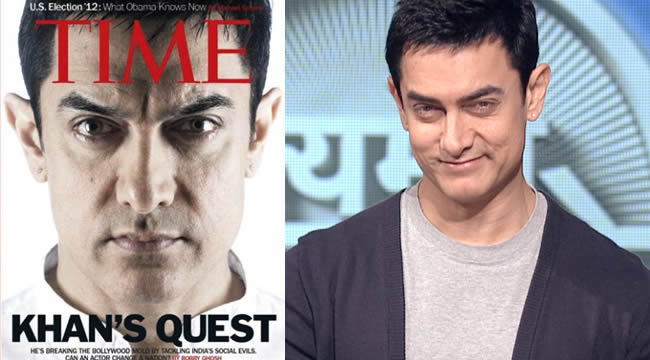 Aamir Khan on Time Magazine Cover