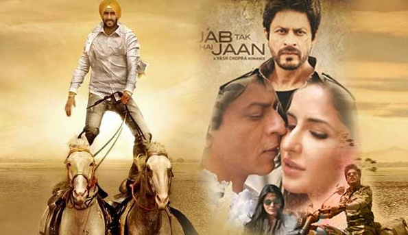 Jab Tak Hai Jaan & Son of Sardar First Week Collection