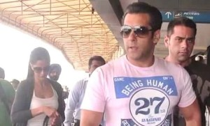 Salman Khan's bag found stuffed with women's clothes