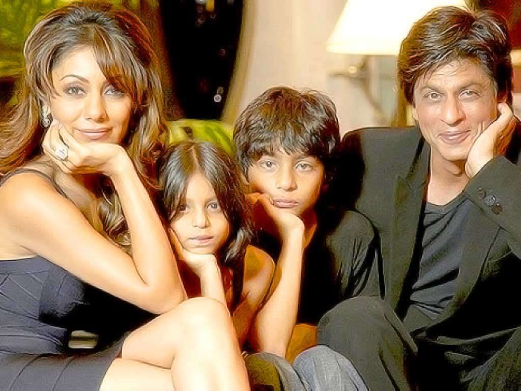 Image result for shah rukh khan family