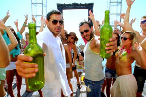 Saif Ali Khan & John Abraham On The Sets of Race 2