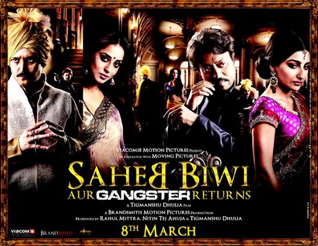 Saheb Biwi Aur Gangster Returns Movie Trailer