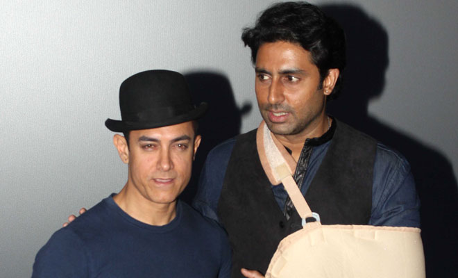 Abhishek Bachchan: Aamir Khan is Childlike on the sets of Dhoom3