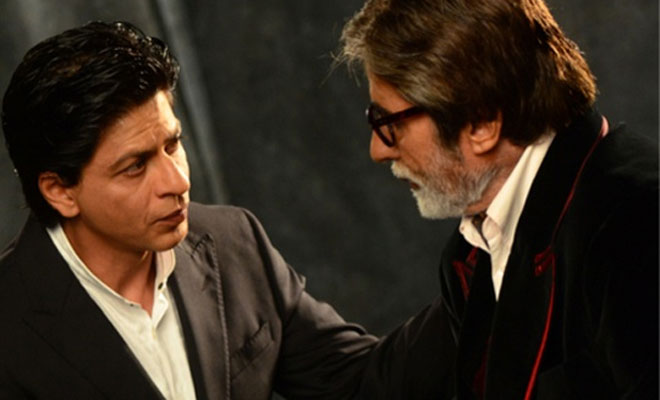 Amitabh Bachchan - Shah Rukh Khan to Be Seen Together in R Balki's Next ?