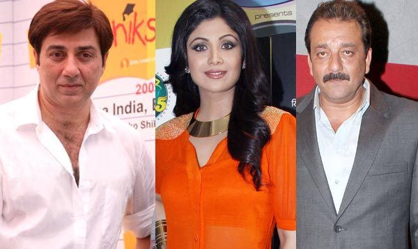 Sunny Deol Replaces Sanjay Dutt in Shilpa Shetty's Next