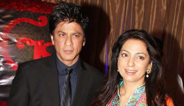 Juhi Chawla Unhappy With Shahrukh Khan ?