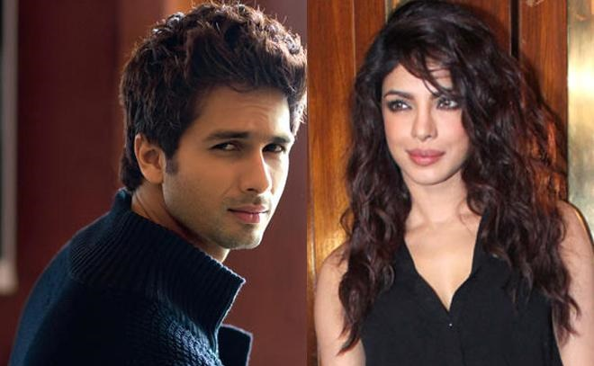 Priyanka Chopra Gives Shahid Kapoor The Royal Snub