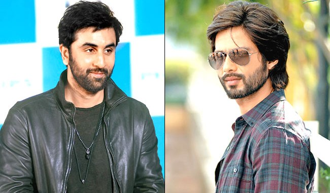 Shahid Kapoor and Ranbir Kapoor bond over cars