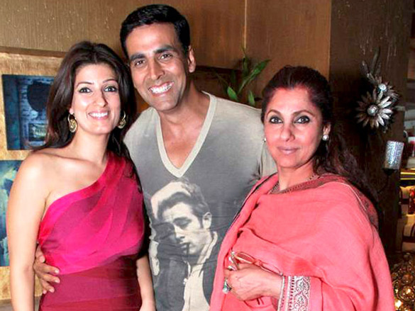 Akshay Kumar thanks Twinkle on Mother's Day