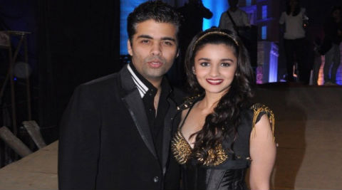 Alia Bhatt - I consult Karan Johar for every decision