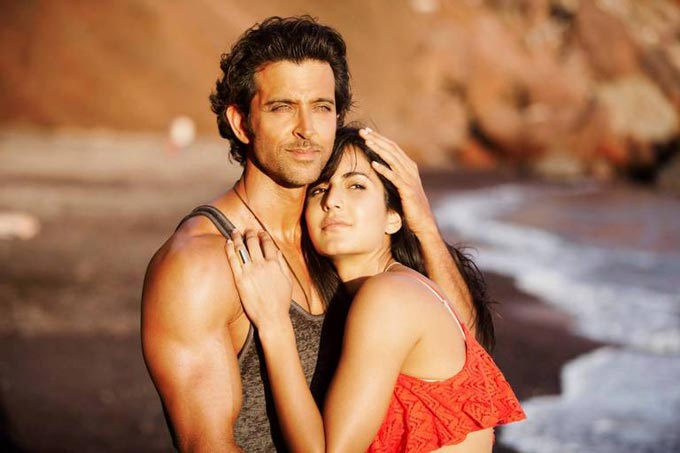 Katrina Kaif's candid moments with Hrithik Roshan on the Sets of Bang Bang