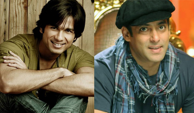Shahid Kapoor and Salman Khan come together for first time