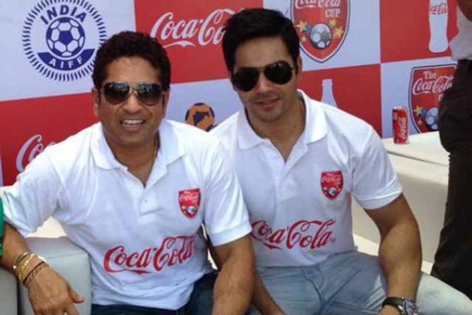 When Varun Dhawan met his Idol Sachin Tendulkar