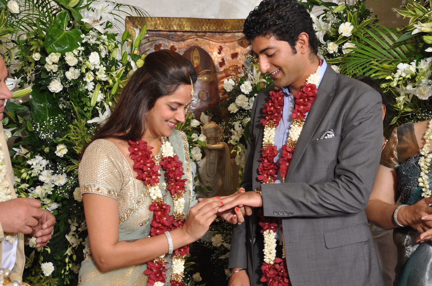 Hema Malini's Youngest Daughter Ahana Deol Gets Engaged