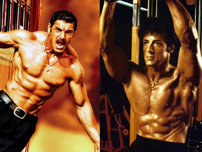 When John Abraham was praised by Sylvester Stallone