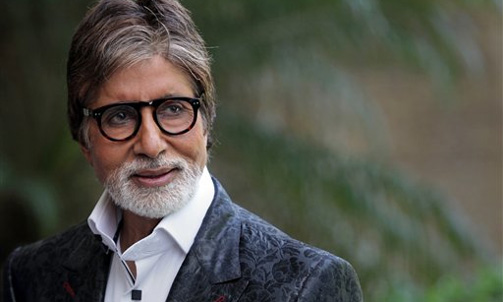 Amitabh Bachchan gives voice over for Krrish 3
