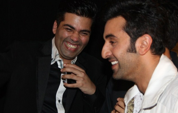 Ranbir Kapoor having fun at Karan Johar's expense