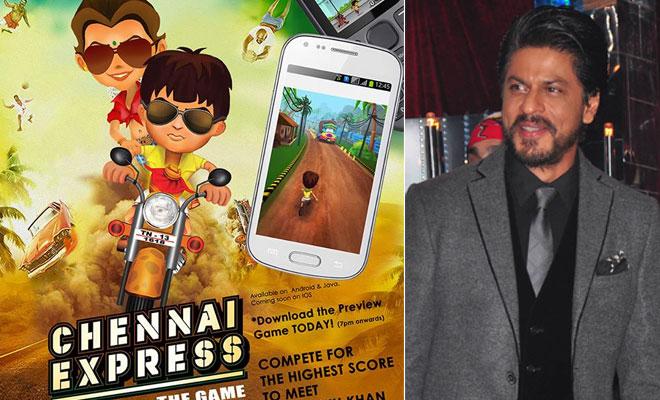 Shahrukh Khan launches Chennai Express games