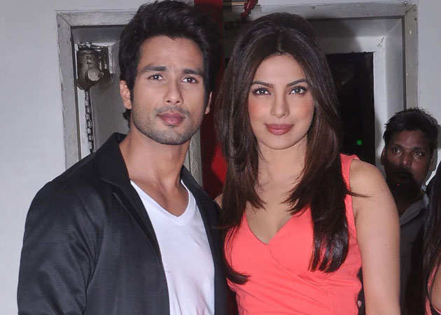 Differences with Shahid Kapoor cost Priyanka Chopra a movie