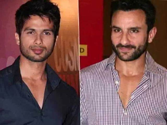 Shahid Kapoor to clash with Saif Ali Khan?