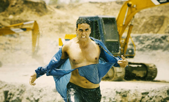 Akshay Kumar : I have not used cable action in 'Boss'
