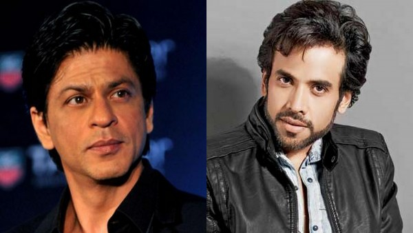 What happened when Shahrukh Khan saw Tusshar Kapoor?