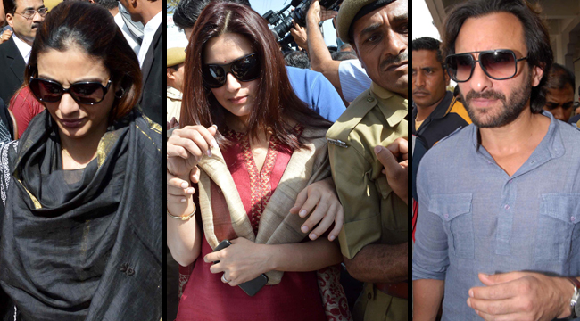 Black buck case - Saif Ali Khan, Tabu  & Sonali Bendre arrive in Jodhpur