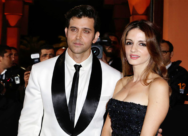 Hrithik Roshan : Sussanne is like a blessing in my life