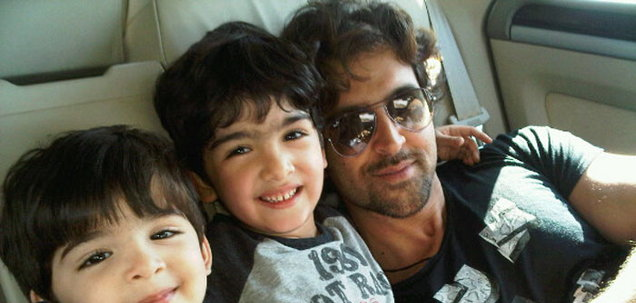 OMG -  Hrithik Roshan's son in hospital