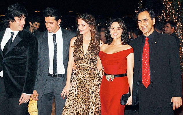 Sussanne's surprise birthday party given a miss by Hrithik Roshan's  mother