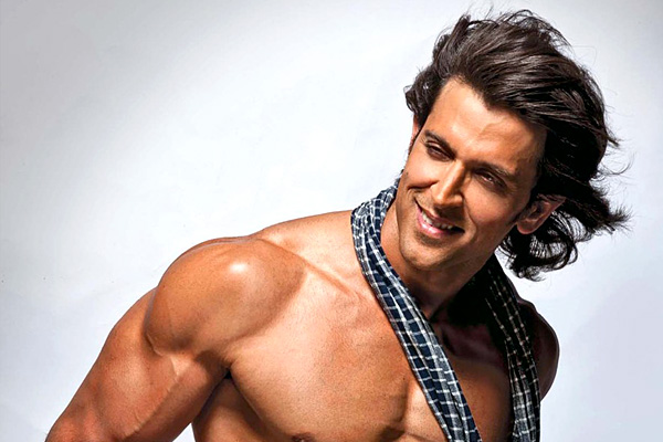 Who is Hrithik Roshan's lucky charm?