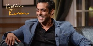 Revealed - First Look Video of Salman Khan on Koffee With Karan 4