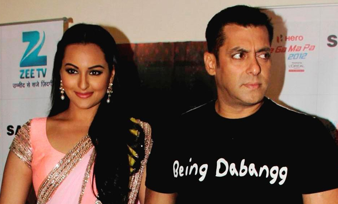 Why is Salman Khan angry with Sonakshi Sinha?