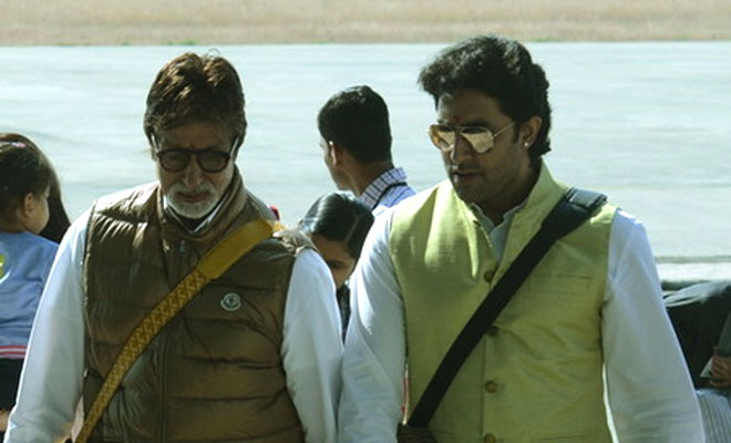 When Abhishek Bachchan taught Amitabh Bachchan how to play PS4 games