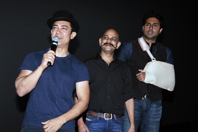 Why is Abhishek Bachchan angry with Aamir Khan?