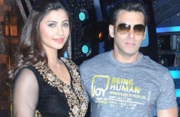 Salman Khan with Daisy Shah