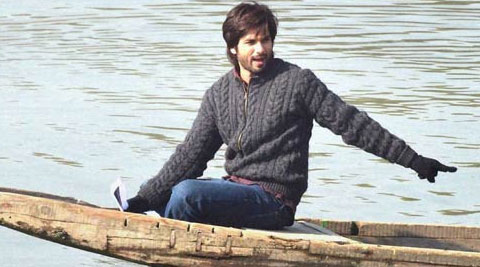 Shahid Kapoor returning to Kashmir to finish 'Haider'