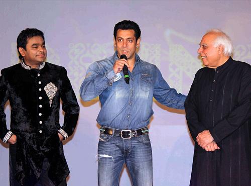 Shocker - Salman Khan makes fun of A R Rahman, Rahman refuses to shake hands