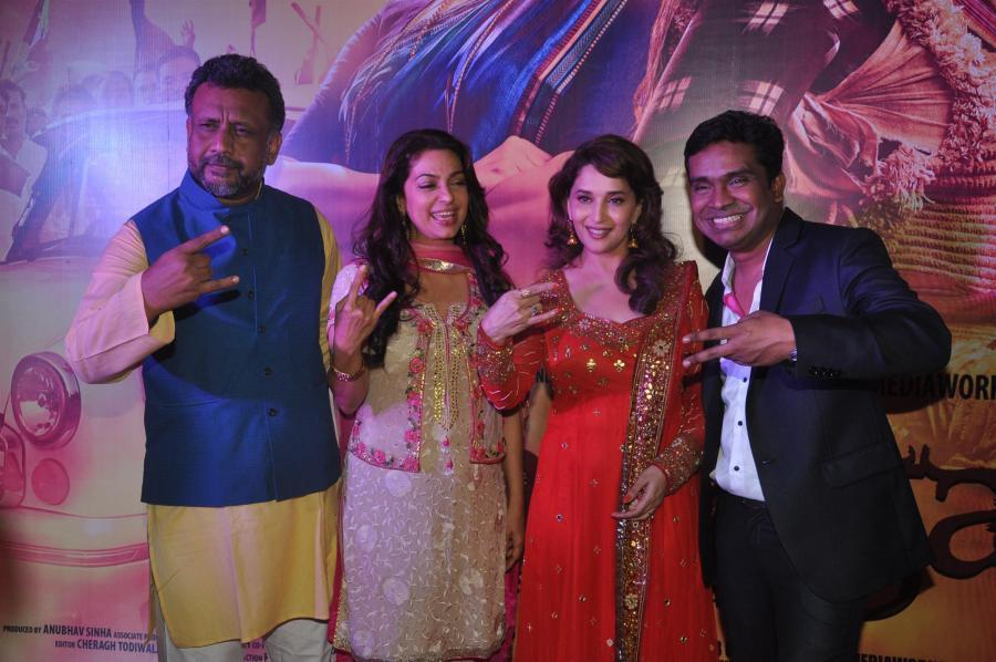 """""""This Season the colour of Justice is Pink."""" Gulaab Gang will set the tone! Mushtaq Shiekh announces"""