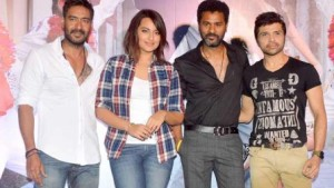 Prabhu Deva makes Ajay Devgn dance to his tunes